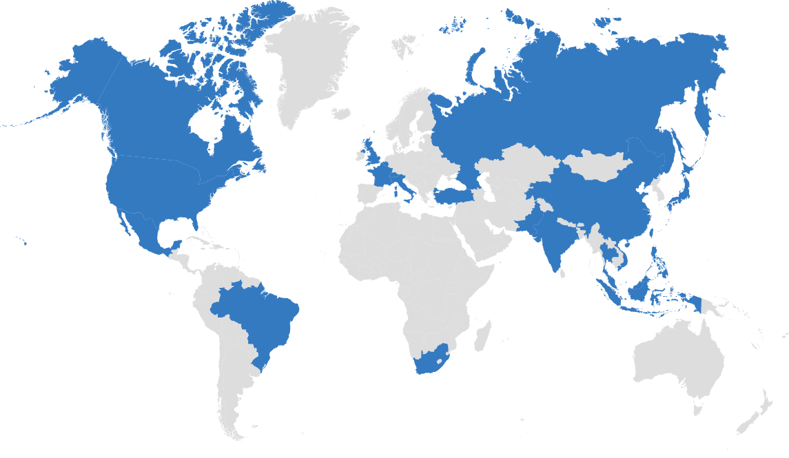 Global network of the plastics business